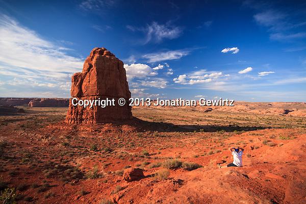 Dramatic rock formations in Arches National Park, Utah. (Jonathan Gewirtz   jonathan@gewirtz.net)