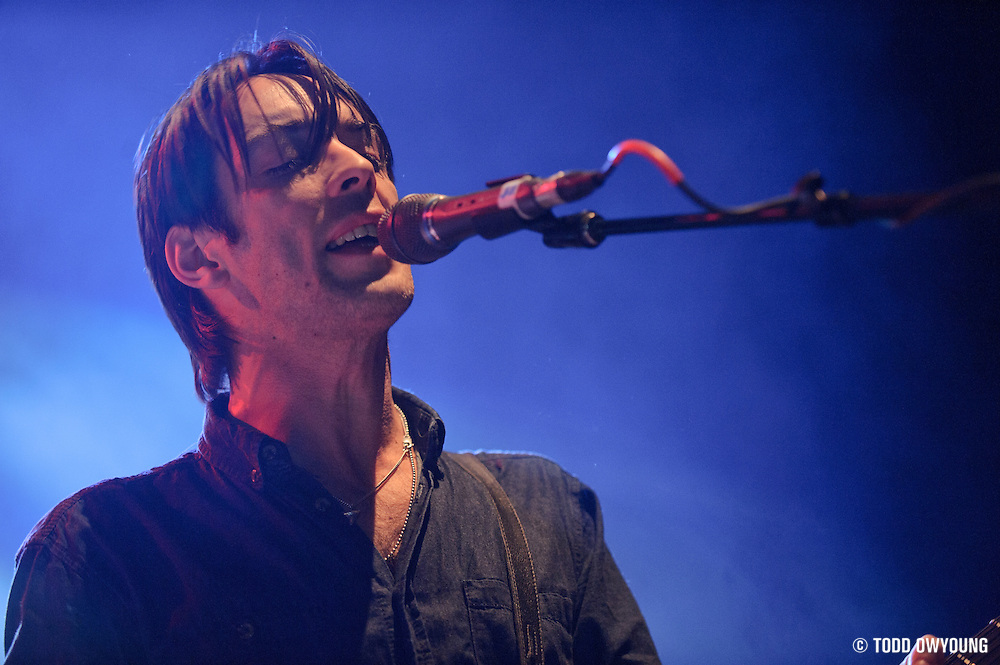 Wolf Parade performs on November 20, 2010 at the Pageant in St. Louis, Missouri (TODD OWYOUNG)