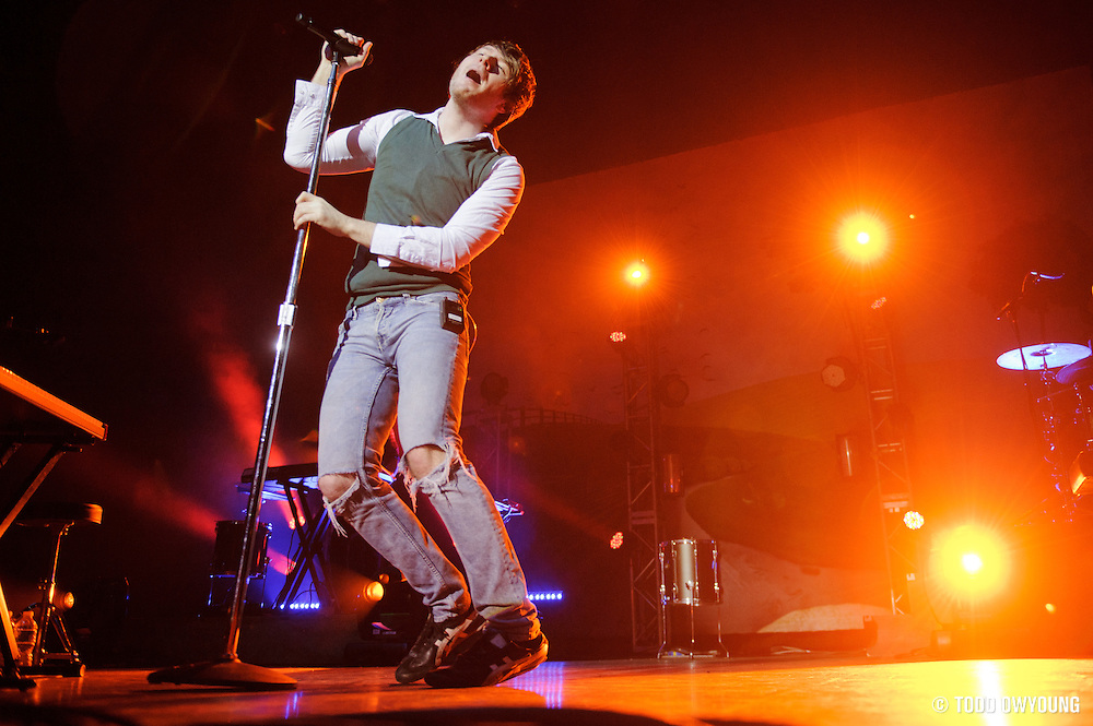 Photos of Owl City performing in concert at the Pageant in St. Louis, Missouri on November 7, 2011. (Todd Owyoung)