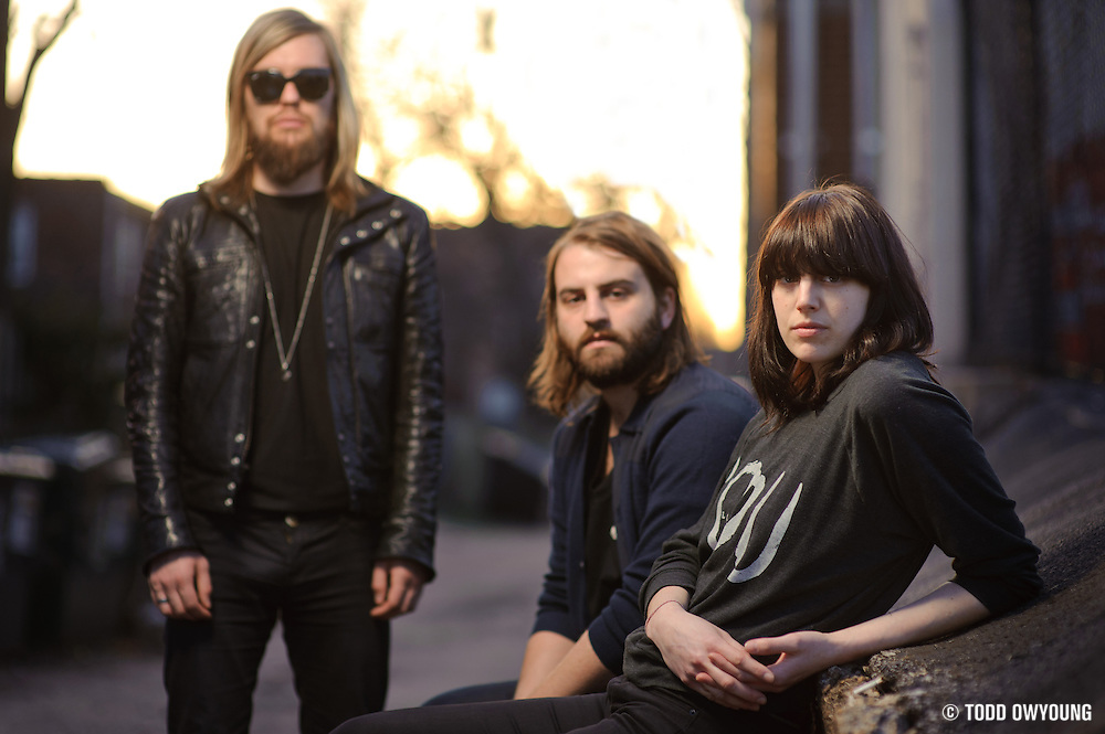 Portraits of UK rock band Band of Skulls photographed in St. Louis on March 23, 2010. (TODD OWYOUNG)