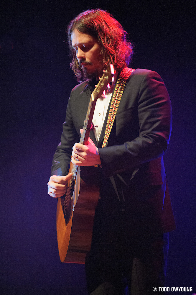 The Civil Wars performing at The Pageant in St. Louis, Missouri on January 15, 2012. (Todd Owyoung)