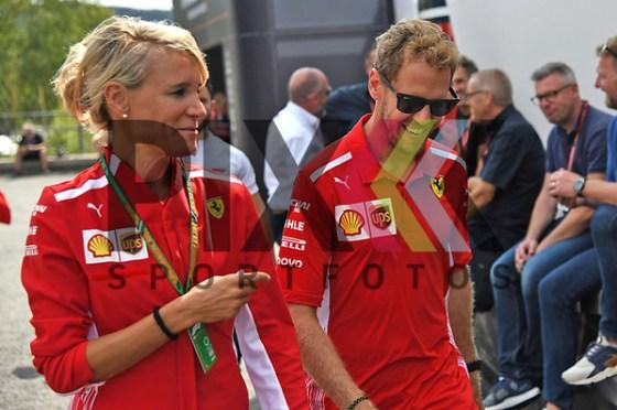 Nr.5 Sebastian Vettel im Ferrari beim Formula 1 2018 Johnnie Walker Belgian Grand Prix in Spa Francorchamps beim Formel 1 Grand Prix in Spa. Foto © PIX-Sportfotos *** Foto ist honorarpflichtig! *** Auf Anfrage in hoeherer Qualitaet/Aufloesung. Belegexemplar erbeten. Veroeffentlichung ausschliesslich fuer journalistisch-publizistische Zwecke. For editorial use only. (PIX-Sportfotos/Daniel Glaser)