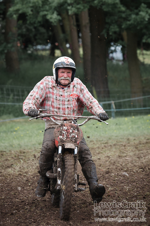 Vintage motocrosser at Cholmondeley Pageant of Power (Lewis Craik/Lewis Craik Photography)