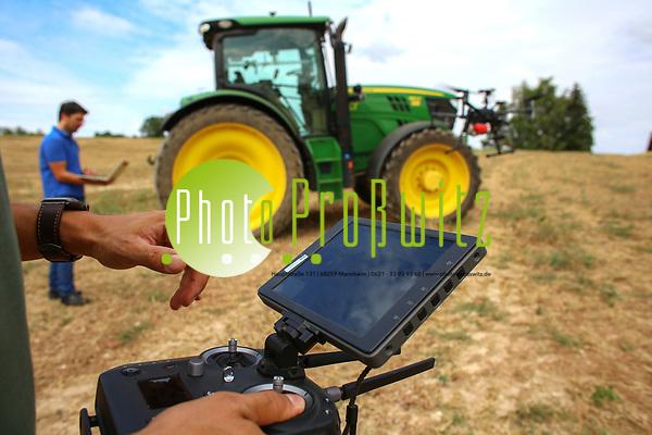 Projektfeld von John Deere. Digitalisierung in der Landwirtschaft, Digitalisierung in der Landwirtschaft