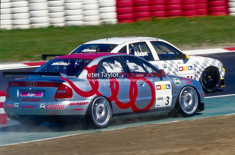 #3 Yvan Muller (FRA), A.Z.K./ROC, Audi A4 Quattro