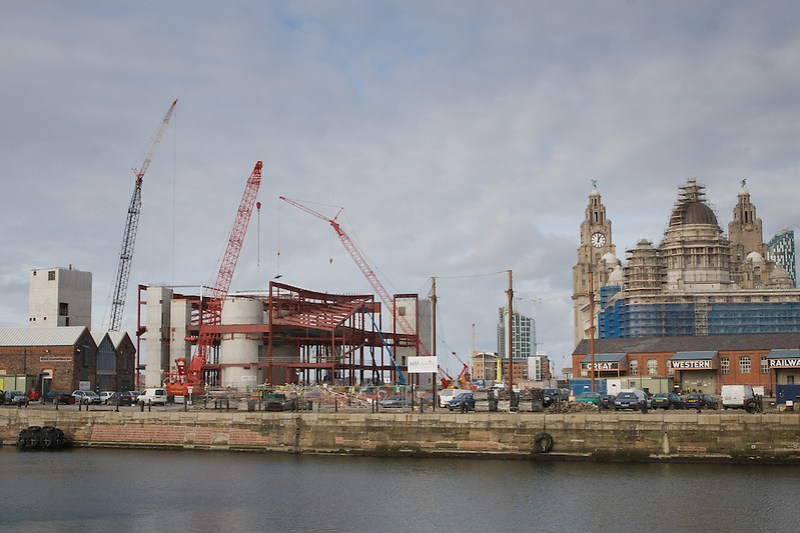Construction of the new Museum of Liverpool at the Pier Head. (Pete Carr)