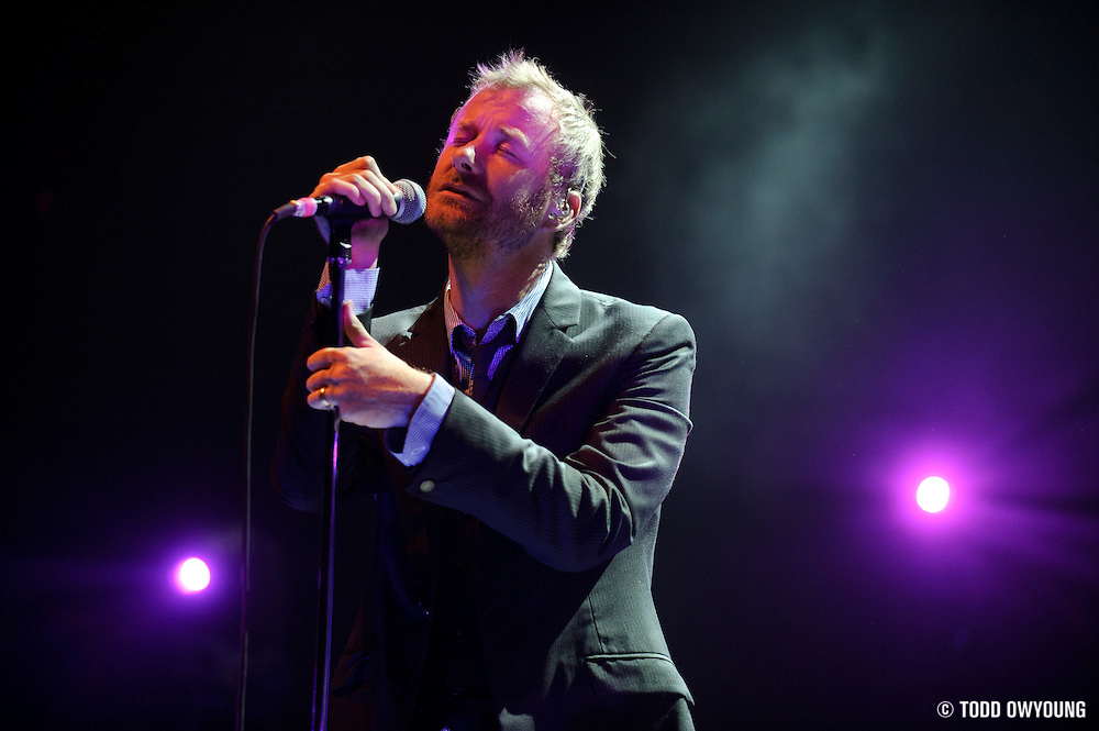 Photos of The National performing at the Pageant in St. Louis on September 30, 2010. (TODD OWYOUNG)