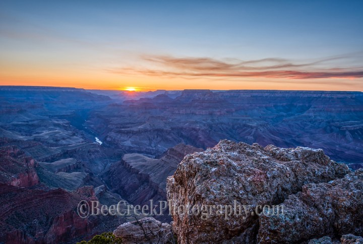 Sunset in the Grand Canyon (Bee Creek Photography - Tod Grubbs & Cynthia Hestand)