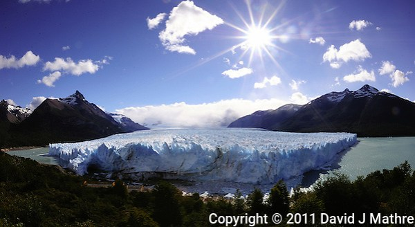 Perito Moreno Glacier, Los Glaciares National Park. Image taken with a Nikon D3s and 16 mm f/2.8 fisheye lens (ISO 200, f/22, 1/125 sec). (David J Mathre)
