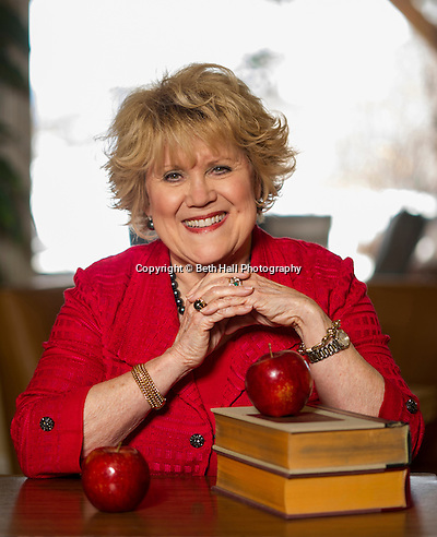 Brenda Gullett poses for a photo in her home on Monday, February 3, 2014, in Fayetteville, Arkansas. (Beth Hall)
