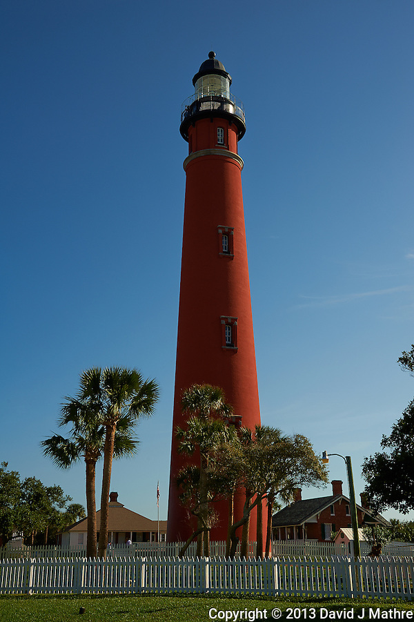 Ponce de Leone Inlet Lighthouse near Daytona, Florida. Image taken with a Nikon D700 and 28-300 mm VR lens (ISO 200, 40 mm, f/11, 1/500 sec). (David J Mathre)