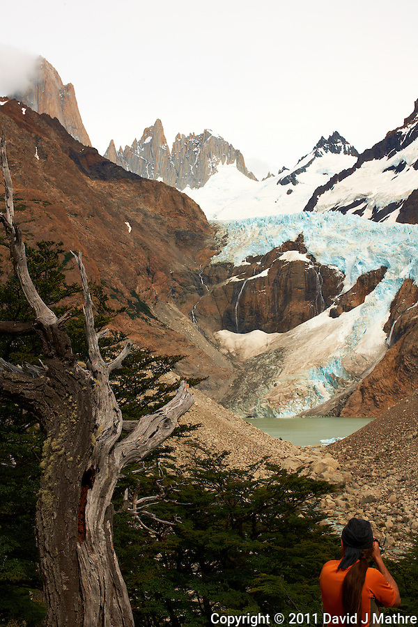 Hike to El Mirador and Laguna Torre in Patagonia from Hosteria El Pilar in El Chalten, Argentina. Image taken with a Nikon D3x and 50 mm f/1.4G lens (ISO 100, 50 mm, f/16, 1/160 sec). (David J Mathre)