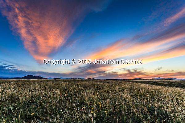 A beautiful Colorado sunset as seen from the William F. Hayden Park on Green Mountain in Lakewood. (Jonathan Gewirtz   jonathan@gewirtz.net)