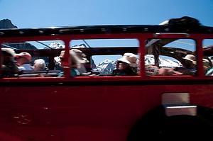 Red Bus Tour, Glacier National Park, Montana, US (Roddy Scheer)