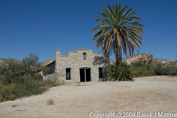 Old Post Office at Big Bend National Park. Image taken with a Nikon D200 and 18-70 mm kit lens (ISO 100, 18 mm, f/9, 1/320 sec). (David J. Mathre)