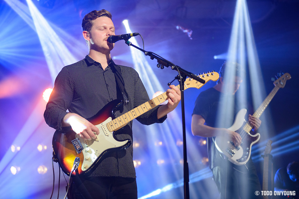 Alt-J photographed at iHeartRadio in New York City on July 23, 2015 (Todd Owyoung)