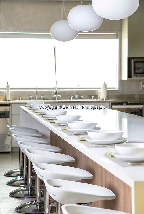 Interior photography of George's taste kitchen in Springdale, Arkansas. Photo by Beth Hall (Beth Hall)