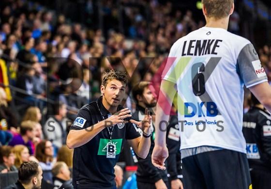 PROKOP Christian (Bundestrainer GER) LEMKE Finn (#6 GER)  beim Laenderspiel Deutschlands - Island. Foto © PIX-Sportfotos *** Foto ist honorarpflichtig! *** Auf Anfrage in hoeherer Qualitaet/Aufloesung. Belegexemplar erbeten. Veroeffentlichung ausschliesslich fuer journalistisch-publizistische Zwecke. For editorial use only. (PIX-Sportfotos/Sandy Dinkelacker/PIX-Sportfotos.de)