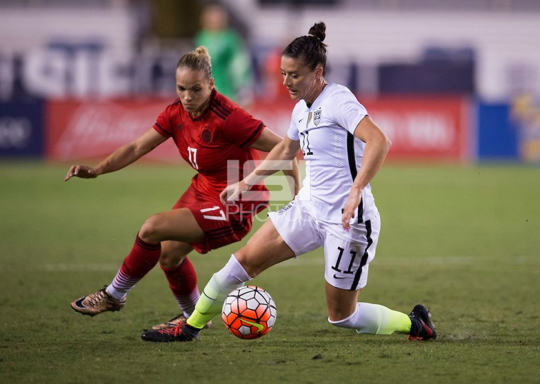 Boca Raton, FL - March 9, 2016: The USWNT defeated Germany 2-1 in the SheBelieves Cup at FAU Stadium. (Brad Smith/isiphotos.com)