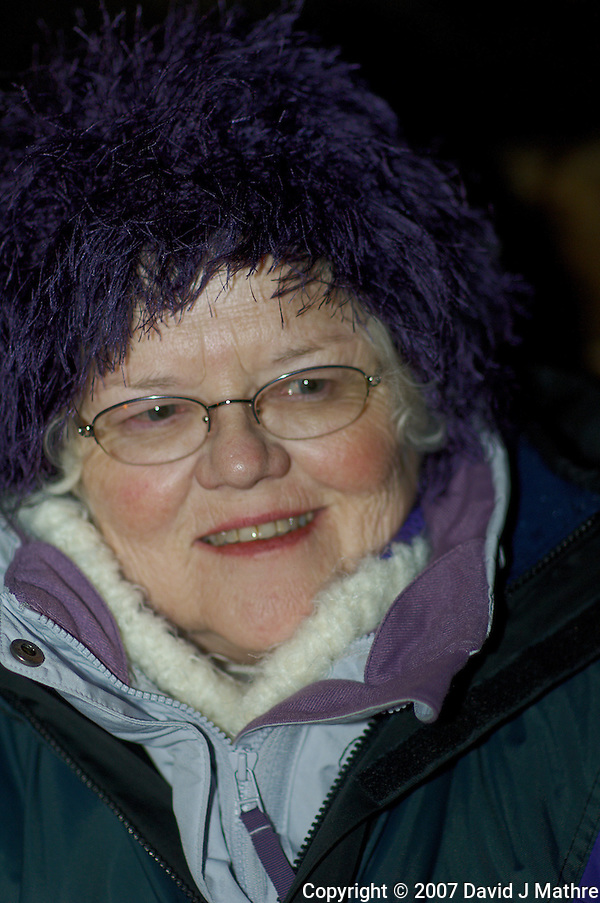 Mary after the Dog Sledding Trip in Tromsǿ. Image taken with a Nikon D2xs and 85 mm f/1.4 lens (ISO 200, 85 mm, f/4.8, 1/60 sec). (David J Mathre)