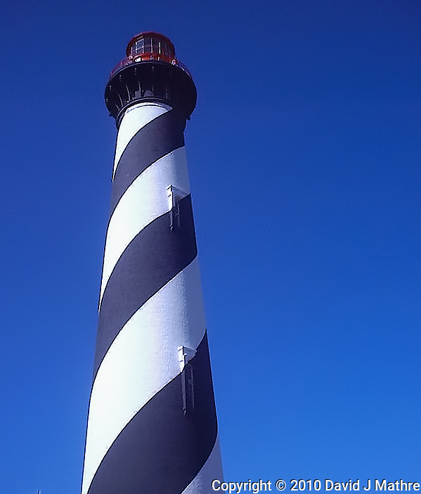 Amelia Island Lighthouse. Image taken with a Polariod PDC700 digital camera. (David J Mathre)