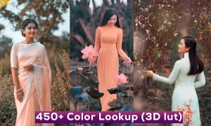 450+ Color Lookup (3D luts) Presets for Photoshop - Free Download