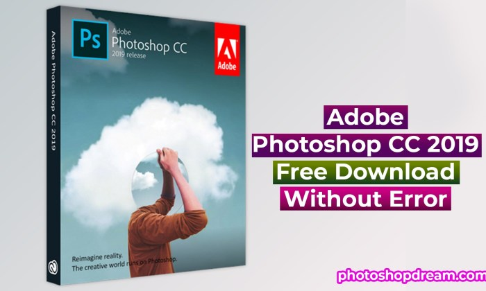 Adobe Photoshop CC 2019 Free Download Latest Version