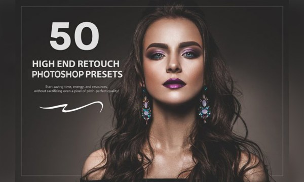 50 High End Retouch Photoshop and Lightroom Presets