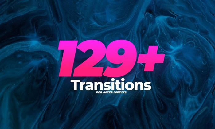 clean and modern transitions