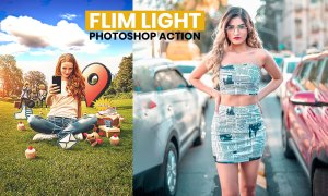 Best Film Light Effects Photoshop Action Free Download