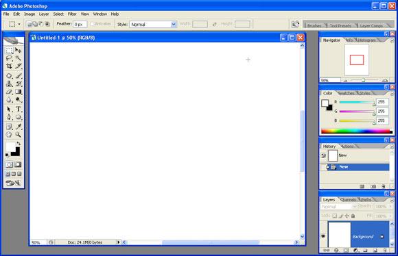 The Photoshop CS2 User Interface
