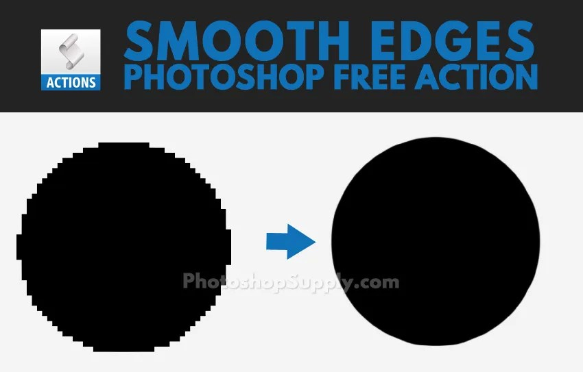 Smooth Edges Photoshop Action