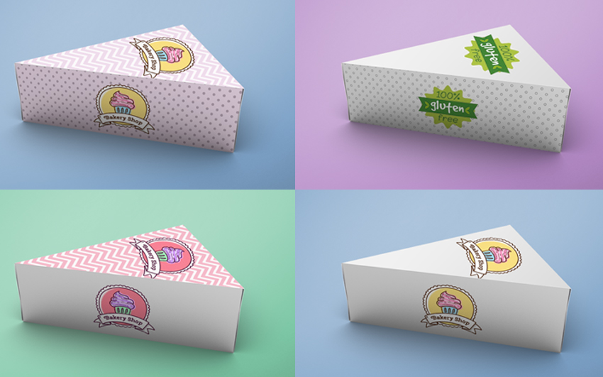 Download Cake Box Mockup (FREE) by Photoshop Supply