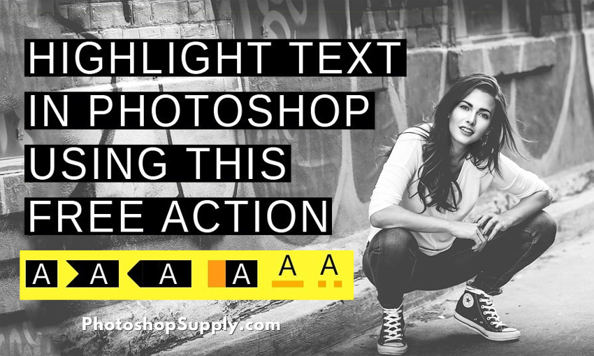 Highlighter Photoshop