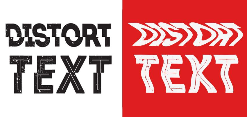 FREE) Distort Text - Photoshop Supply