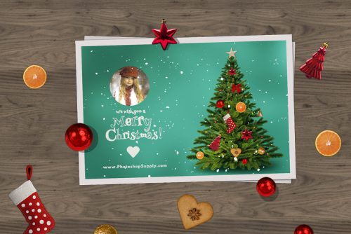 Free Christmas Card Templates.Christmas Card Templates For Photoshop Photoshop Supply