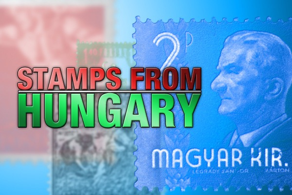 Stamps from Hungary Photoshop Brushes