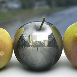 How to Create a Photo-Realistic Metal Apple in Photoshop