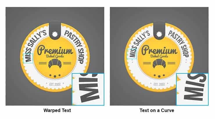 Quick Tip: The Correct Way to Create Curved Text - Photoshop