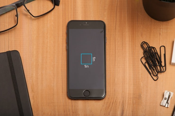 Matching your documents DPI with your devices PPI for exact measurements.