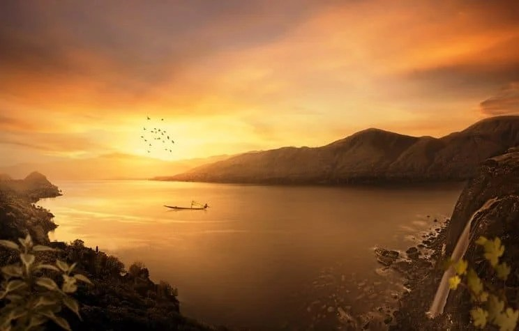 Thao tác một Sunset Matte Painting đẹp trong Photoshop