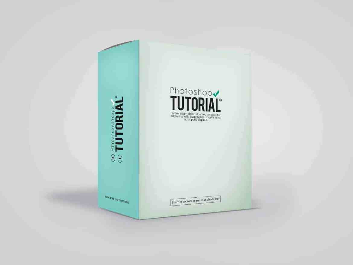 How To Create Your Own Product Mockup Box In Photoshop Photoshop