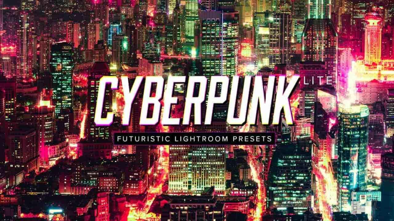 Free Cyberpunk Lightroom Presets - Photoshop Tutorials