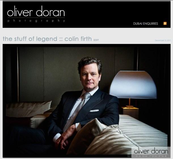 Photographer Oliver Doran