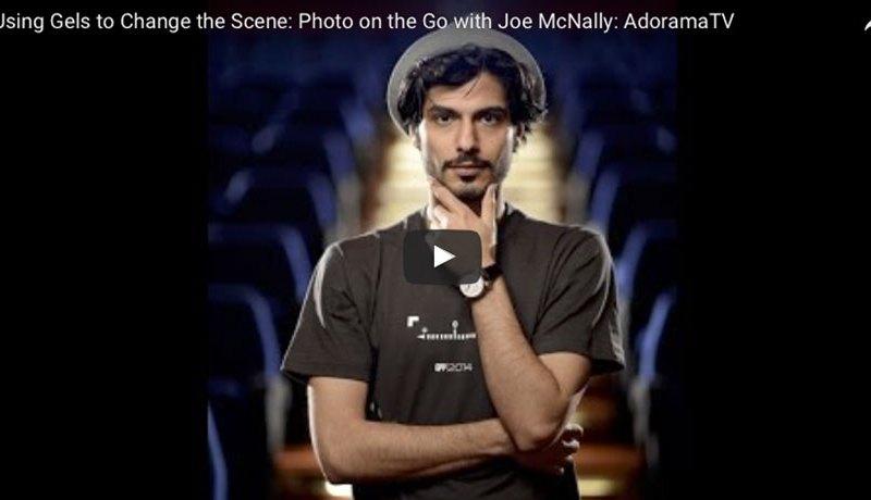 Famous Nat Geo photographer Joe McNally shoots our Ali