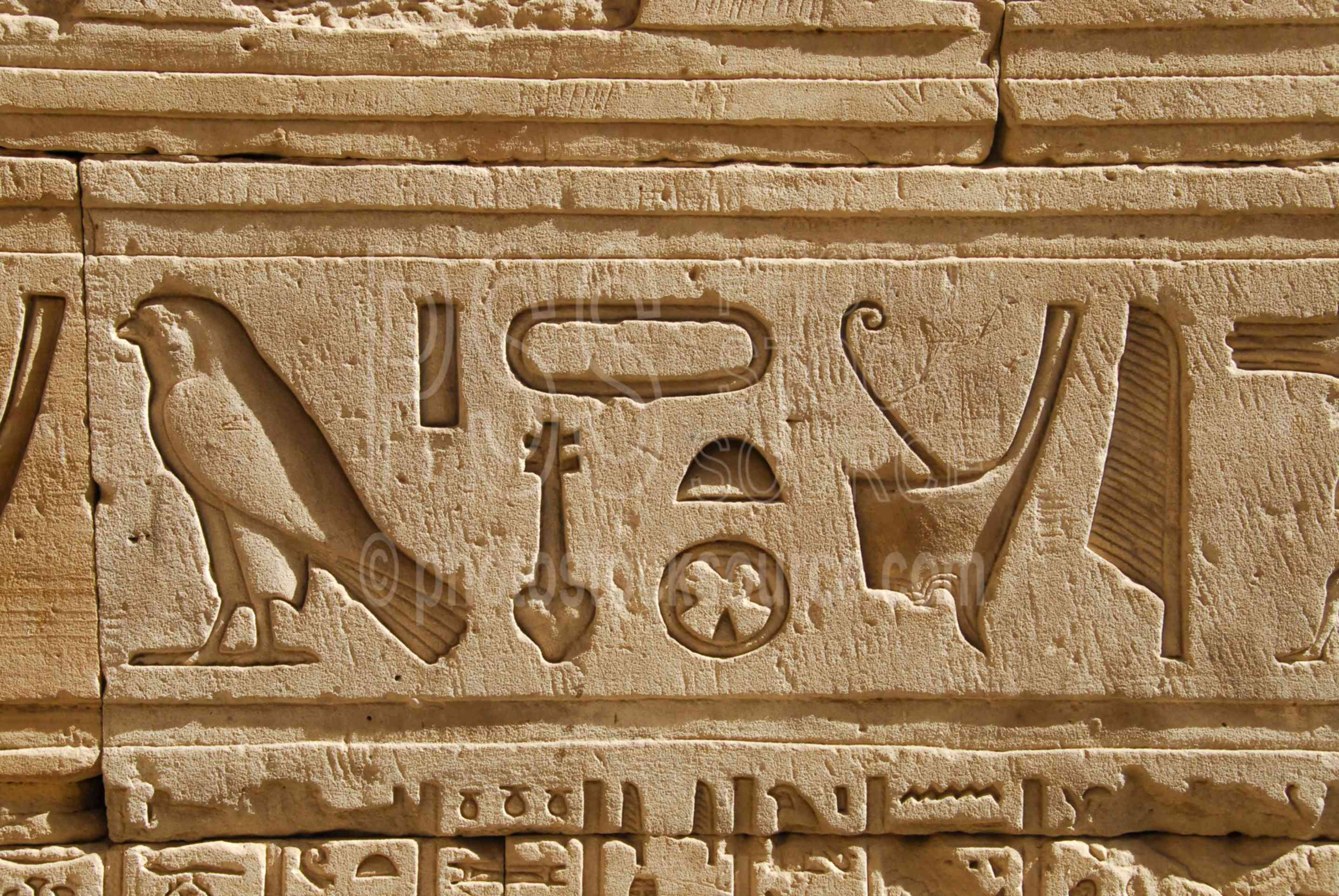 Photo Of Inner Passage Hieroglyphics By Photo Stock Source