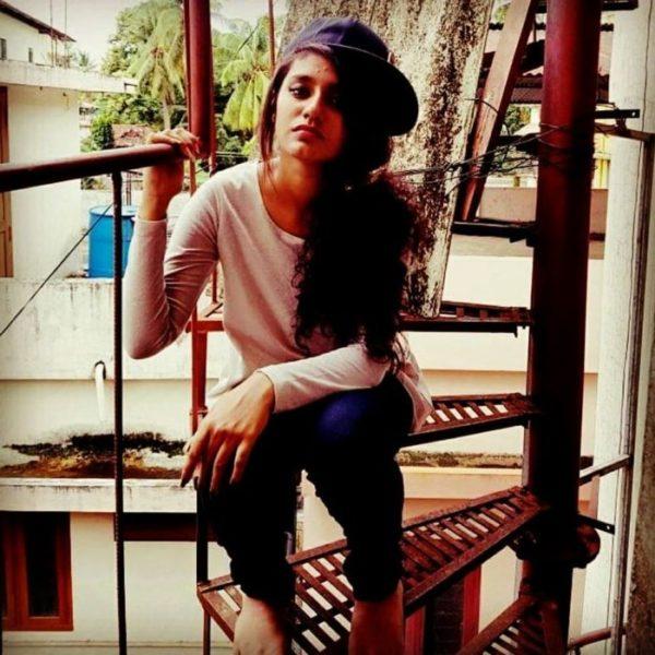 Priya Prakash without makeup