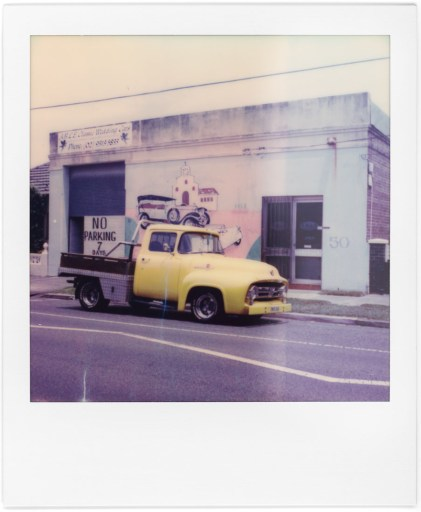 Truck, Polaroid SX-70, Polaroid Originals Color SX-70