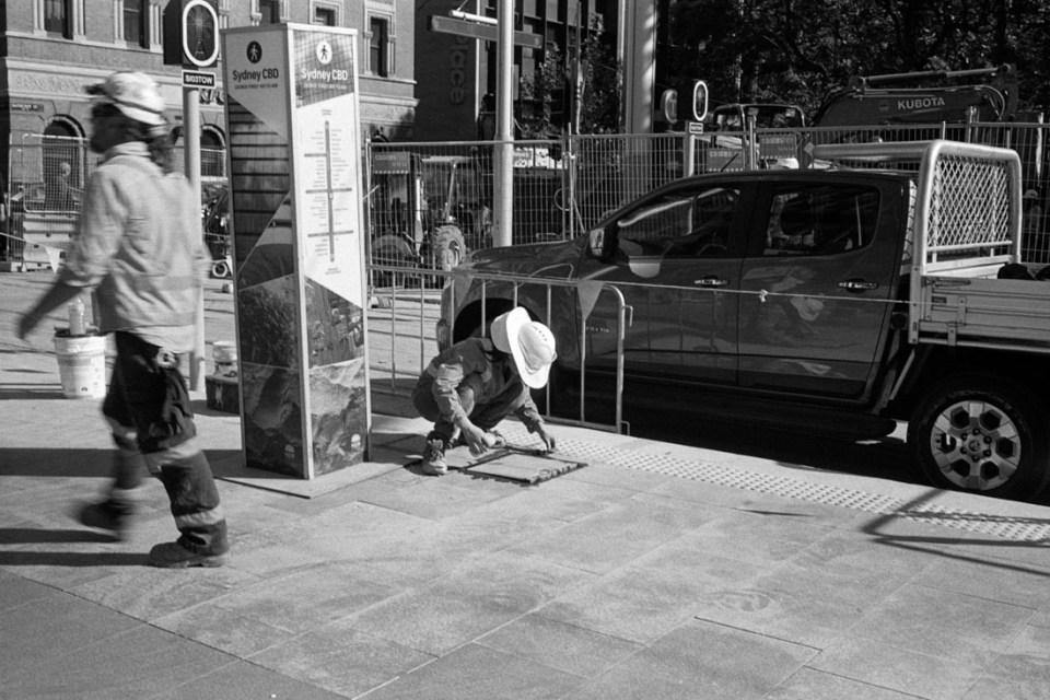 Paving | Prakti | Kodak Tri-X 400