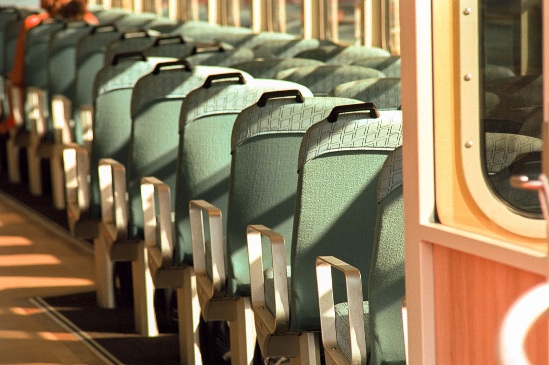 Ferry Seats | Nikon FM2n | Nikkor 80-200 f/4.5 N Ai | Kodak Ektar 100